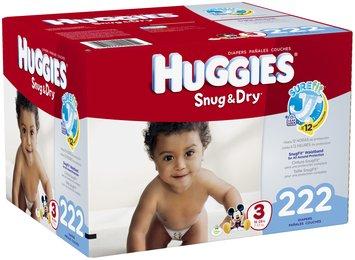 Huggies® Snug & Dry™ Size 3 Diapers 222 ct Box