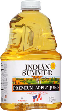 Indian Summer® Premium Apple Juice 96 fl. oz. Bottle