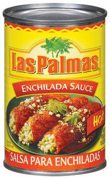 Las Palmas Hot Enchilada Sauce 10 Oz Can