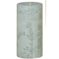 Oddity, Inc. Oddity 53233 3 in. x 6 in. Distressed Pillar Candle Ocean Breeze Pack of 2