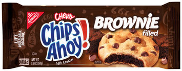 Nabisco Chewy Chips Ahoy! Brownie Filled Soft Cookies 9.5 oz. Tray