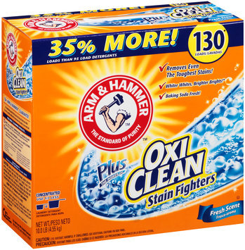 Arm & Hammer ™ plus OxiClean™ Stain Fighters Fresh Scent Laundry Detergent 10 lb. Box