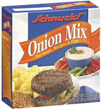 Schnucks  Onion Mix 2.5 Oz Box