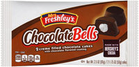 Mrs. Freshley's® Chocolate Bells Cakes 3.5 oz. Wrapper