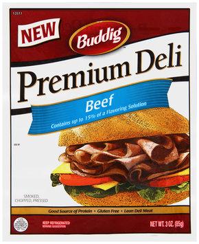 Buddig™ Premium Deli Beef 3 oz. Pack