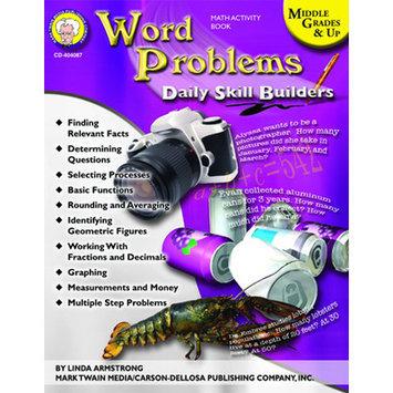 Carson-dellosa Publishing Carson Dellosa CD-404087 Daily Skills Builders Series Word Problems