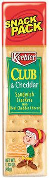 Keebler® Club® & Cheddar Sandwich Crackers 1.73 oz. Snack Pack