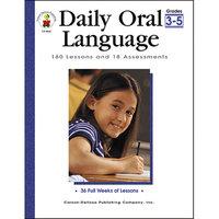 Carson-dellosa Publishing Daily Oral Language Gr 3-5