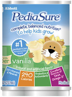 Pediasure Vanilla W/Fiber Nutritional Shake 8 Oz Can