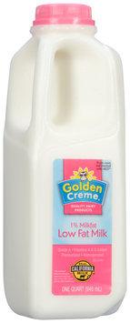 Golden Creme® Low Fat Milk 1 qt. Jug