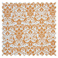 Stwd Damask Fabric by the Yard Color: Gold
