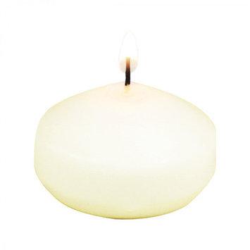 Koyal Wholesale Floating Candle Color: Ivory