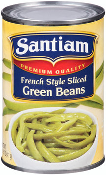 Santiam® Premium Quality French Style Sliced Green Beans 14.5 oz. Can
