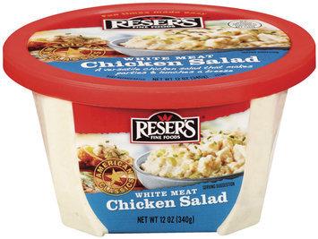 Reser's Fine Foods White Meat Chicken Salad 12 Oz Tub