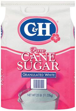 Domino Pure Cane Granulated White Sugar 25 Lb Bag
