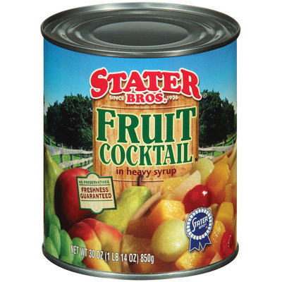 Stater Bros. In Heavy Syrup Fruit Cocktail 30 Oz Can