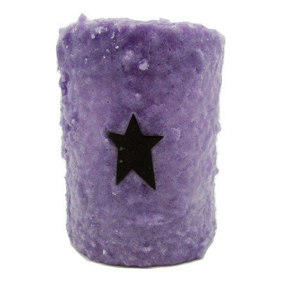 Starhollowcandleco Star Pillar Candle Size: 4