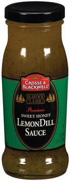 Crosse & Blackwell Sweet Honey Lemon Dill Sauce 8 Oz Glass Bottle