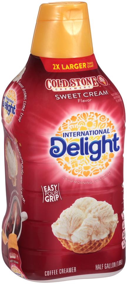 International Delight™ Coldstone Creamery™ Sweet Cream Coffee Creamer 0.5 gal. Bottle