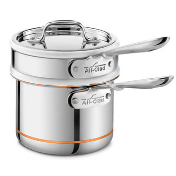 All Clad All-Clad Copper Core Double Boiler with Sauce Pan