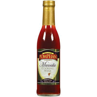 Pompeian Marsala Imported Cooking Wine 12.7 Oz Glass Bottle