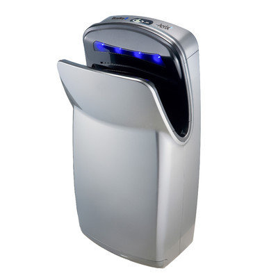 Bradley Corporation Surface-Mounted Sensor-Operated Hand Dryer with High Impact ABS Cover