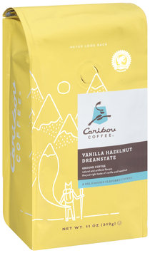 Caribou Coffee® Vanilla Hazelnut Dreamstate Ground Coffee 11 oz. Bag