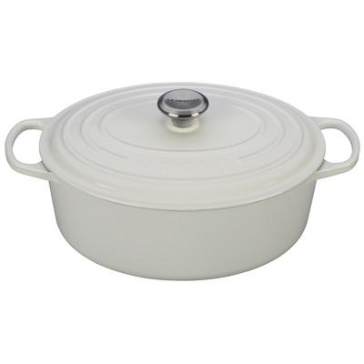 Le Creuset 6.75 Quart White Oval Dutch Oven