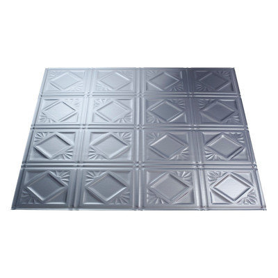 Fasade 23-3/4-in x 23-3/4-in Fasade Traditional Ceiling Tile Panel L55-08
