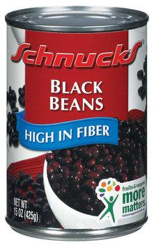 Schnucks High In Fiber Black Beans 15 Oz Can