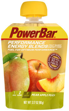 PowerBar Performance Energy Blends Pear Apple Peach