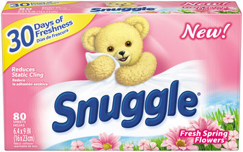 Snuggle® Fresh Spring Flowers™ Fabric Softener Dryer Sheets 80 ct Box