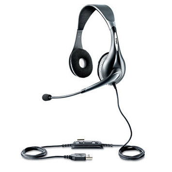 GN Netcom UC Voice 150 Mono Headset with Noise-Cancelling Microphone
