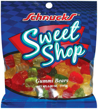 Schnucks Sweet Shop Gummi Bears 5 Oz Peg