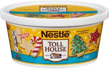 Nestlé TOLL HOUSE Sugar Cookie Dough 36 oz. Tub