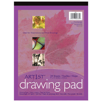 Pacon Creative Products Art1st Drawing Pad 9x12 24 Sht Wht (Set of 2)