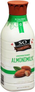 So Delicious® Unsweetened Almondmilk 48 fl. oz. Bottle