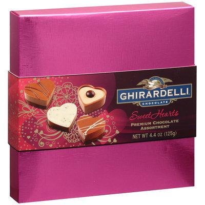 Ghirardelli® Chocolate Sweet Hearts Premium Chocolate Assortment 4.4 oz. Box