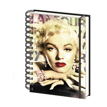 Ace Framing Marilyn Monroe Glamour A5 Notebook