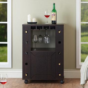 Latitude Run Wagram 10 Bottle Wine Cabinet