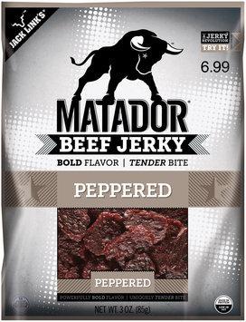 Matador® Peppered Beef Jerky $6.99 Prepriced 3 oz. Bag
