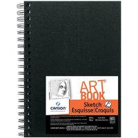 Canson C100510433 ArtBook 5 x 7 Wirebound Sketchbook