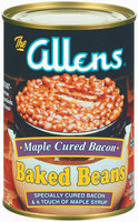 The Allens Maple Cured Bacon Baked Beans 16 Oz Can