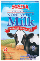 Stater Bros. Nonfat Instant Dry Milk