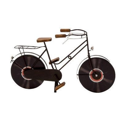 Benzara 92664 Metal Wood Bicycle
