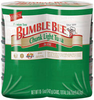 Bumble Bee Chunk Light In Oil 5 Oz Cans  Tuna 10 Ct Wrapper