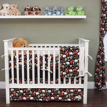 My Blankee Zoology 6 Piece Crib Bedding Set