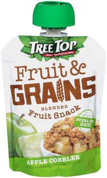 Tree Top® Fruit & Grains Apple Cobbler Blended Fruit Snack 3.2 oz. Pouch