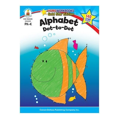 Carson-dellosa Publishing Alphabet Dot To Dot Home Workbook
