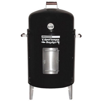 Brinkmann Sportsman Double Charcoal Smoker and Grill